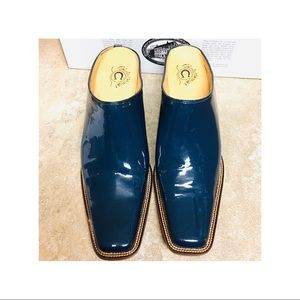 Charlie 1 Horse Patent Leather Mule 9.5